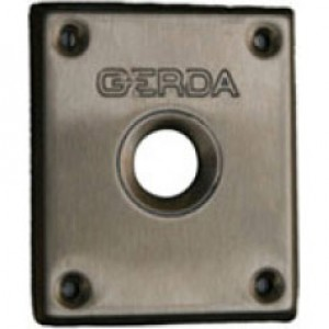 Розетка – стандартна за брава GERDA TYTAN ZX, неръждаема стомана