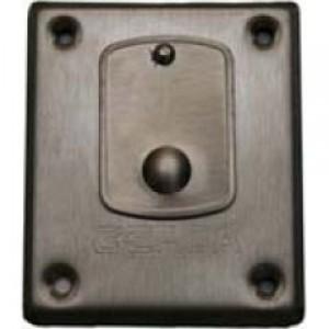 Розетка с капаче за брава GERDA TYTAN, неръждаема стомана
